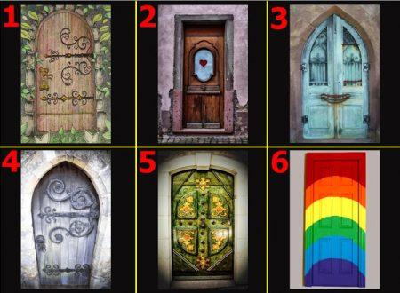 A quale porta busseresti? Scopri cosa nasconde il tuo subconscio