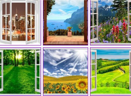 Scegli una vista dalla finestra e scopri cosa ti aspetta nel  futuro